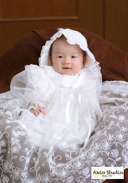 水天宮 お宮参り ドレス