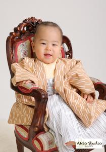 Sくん 1歳のお誕生日おめでとうございます♪ 袴とタキシードで撮影・カメラマンもチラッと