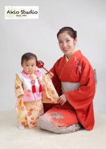 1歳のお誕生日おめでとうございます 江戸川区よりご来店ありがとうございます