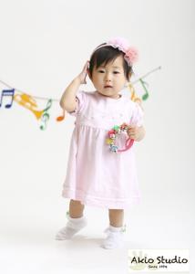 1歳のお誕生日おめでとうございます! 水天宮前写真館