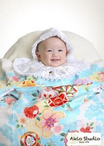 「親ばかですが、なんて可愛いのだろうと…」初宮参り ドレス・着物撮影