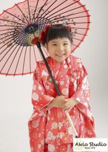 じょうずにがんばったね〜! 七五三3歳さん 江東区よりご来店ありがとうございます♪