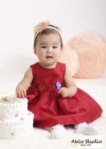 1才の誕生日おめでとうございます 板橋区よりご来店ありがとうございます
