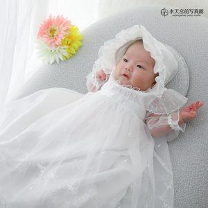 輝く瞳のお姫さま♪お宮参りおめでとうございます!