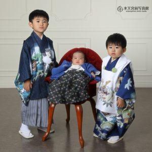 3名のお写真のとき、実は…♪七五三・お宮参りおめでとうございます!