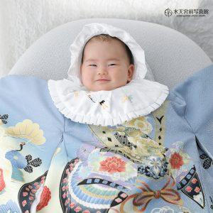 素敵な笑み♡お宮参りおめでとうございます!