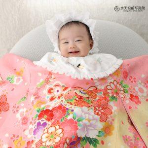 天使のような可愛らしさ♡お宮参りおめでとうございます!
