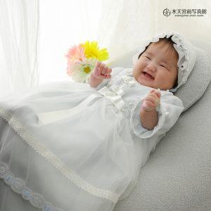 素敵な笑顔♡お宮参りおめでとうございます!